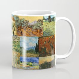 Vincent van Gogh Montage Coffee Mug