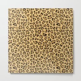 Jaguar pattern Metal Print