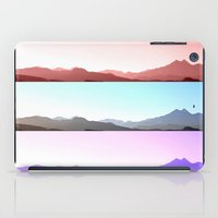 skyline iPad Cases featuring Skyline by Augustina Trejo