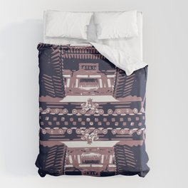 The Buddhist Temple Duvet Cover