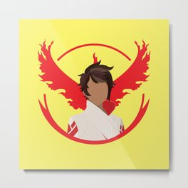 Team Valor Candela Metal Print