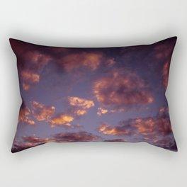 Cloudy sunset Rectangular Pillow