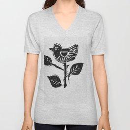 Bird Unisex V-Neck