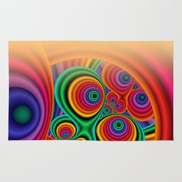 trapped colors windowcurtain -1- Rug