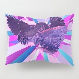 Stardust Owl Crystal Flare Pillow Sham