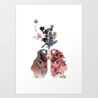 lungs Art Prints featuring Lungs by La Scarlatte