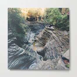 Little canyon Metal Print