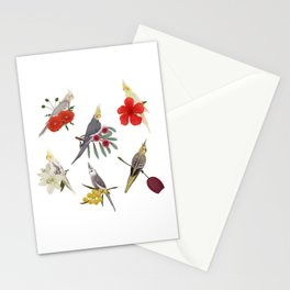 Cockatiels Galore Stationery Cards