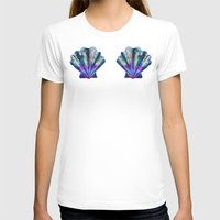 seashell T-shirts featuring Seashell #7C by Schatzi Brown