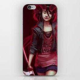 Devil (#Drawlloween2016 Series) iPhone Skin
