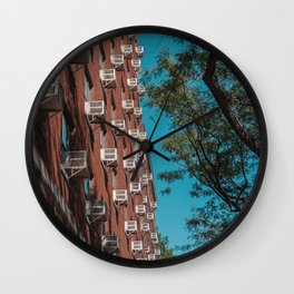 Urban Brooklyn apartment in New York Wall Clock