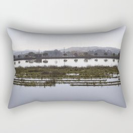 The Sèquia of Manresa. Rectangular Pillow