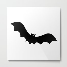 Halloween Bat Metal Print