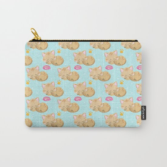 Cute Cat #3 Carry-All Pouch
