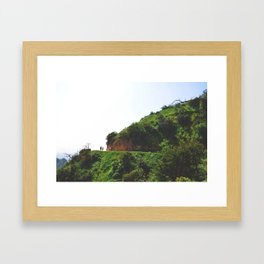 Griffith Park Greenery Framed Art Print