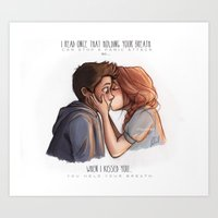 laia Art Prints featuring Stydia by Laia™