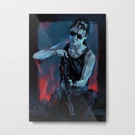 Sarah Connor Metal Print