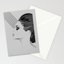 TEAR/001 (MONOCHROME EDITION) Stationery Cards