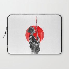 Samurai Girl Laptop Sleeve