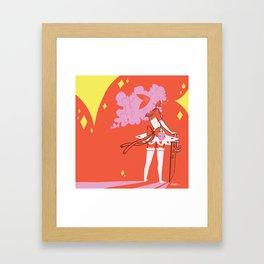 Fura Kuma Framed Art Print