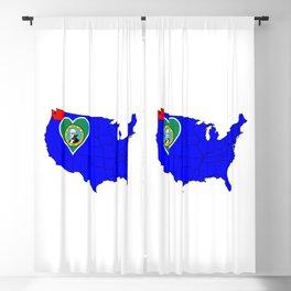 State of Washington Blackout Curtain