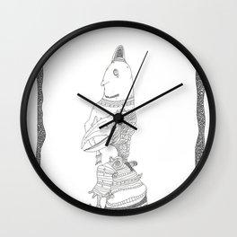 Fly away I dare ye! Wall Clock