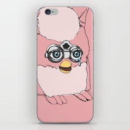 Pink Furby iPhone Skin