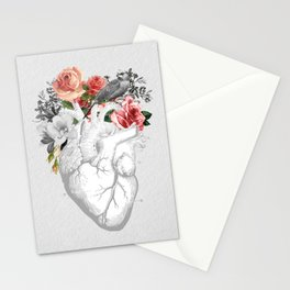 nature love, wild heart Stationery Cards