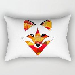 Fire Fox Rectangular Pillow