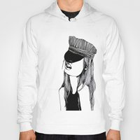 mad hatter Hoodies featuring MAD HATTER by ZOBOHO