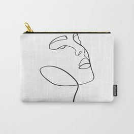 Portrait of a girl Carry-All Pouch