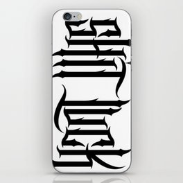 wash out iPhone Skin