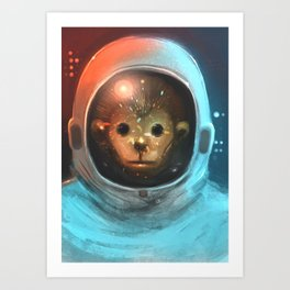 spaced Art Print