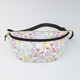 Woodland wildflowers Fanny Pack