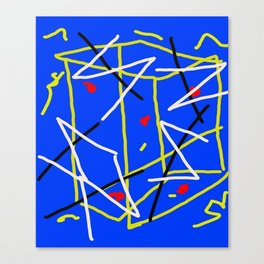 Electric Midnight Canvas Print