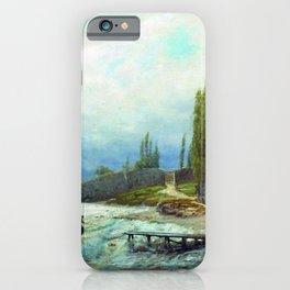 Landscape 1871 By Lev Lagorio   Reproduction   Russian Romanticism Painter iPhone Case