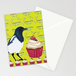 Magpies and Cupcakes Stationery Cards