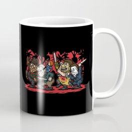 Where the Slashers Are (Full Color) Coffee Mug
