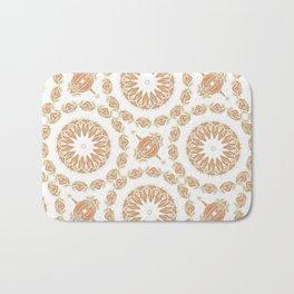 Citrine Mandala Tile Bath Mat
