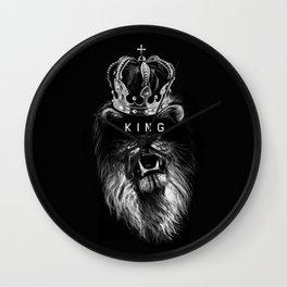 Lion Wall Clock