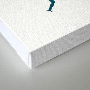 Physic Nut Stink Bug Canvas Print