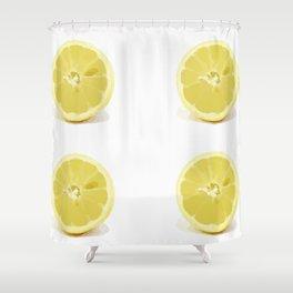 Citrus Pop Shower Curtain