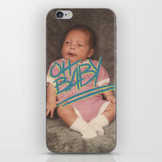 OH BABY iPhone & iPod Skin