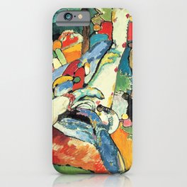 "Vasily Kandinsky Sketch for ""Composition II"" iPhone Case"