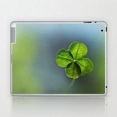 Lucky Four Leaf Clover Laptop & iPad Skin