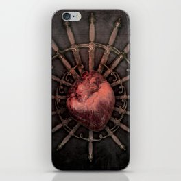 Hurt by injustice iPhone Skin