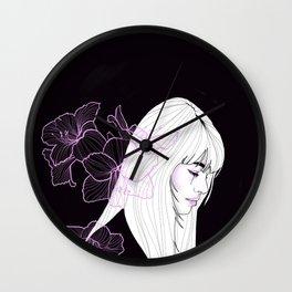 Fleur De Lune Wall Clock