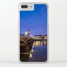 London England Clear iPhone Case