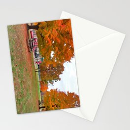 Autumn Playground Stationery Cards