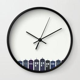 Tardises Wall Clock